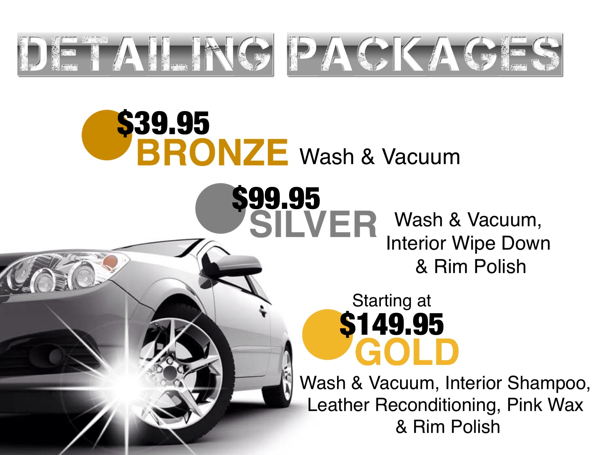 car wash, auto detailing, mississauga